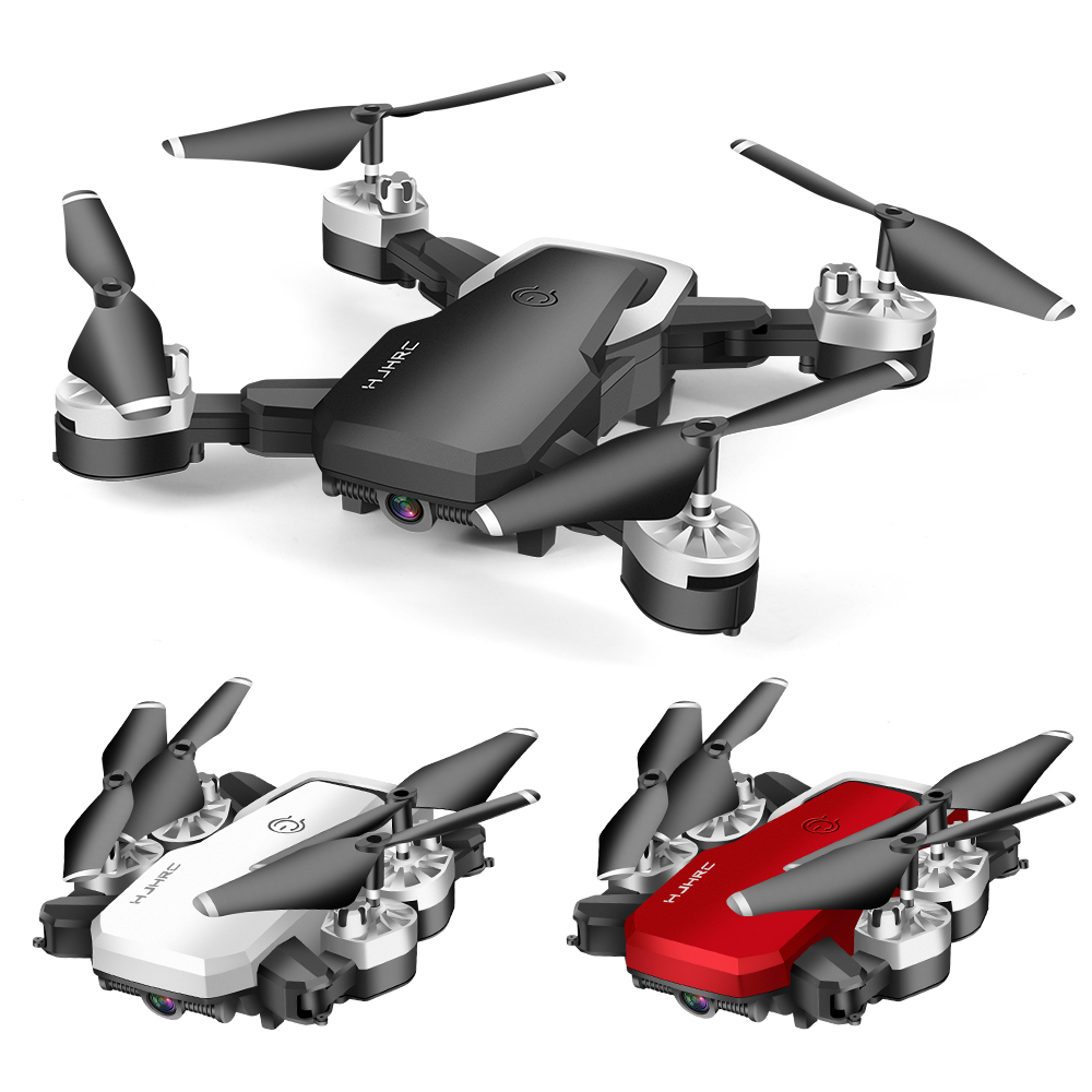 lowest price Lozenge HJ28 WIFI FPV Long Battery RC Drone Wide Angle Selfie Quadcopter Altitude Drone With Camera 4K Deone with Storage Bag