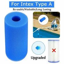 Плавательный бассейн пены губка фильтр Интекс многоразовый моющийся biofoam чистильщик бассейна фильтр пены губки аксессуары для плавания бассейна