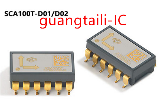 1PCS SCA100T-D01 SCA100T-D02 SCA100T SOP12 Double axle industrial grade inclination sensor New original parts