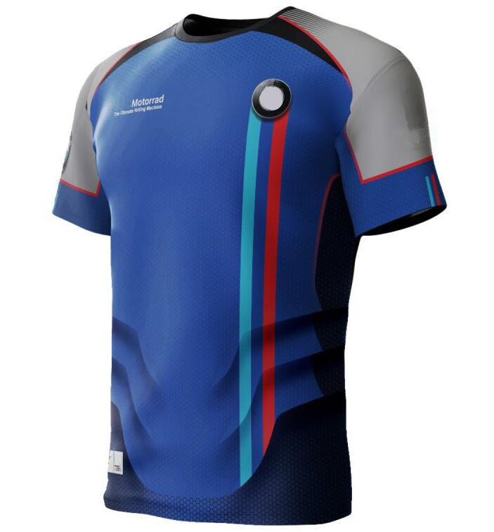 2020 Sports Riding Bicycle Cycling Motocross Jersey Off Road Motorcycle Breathable <font><b>Shirts</b></font> For <font><b>BMW</b></font> DH XC Dirt Bike Short Sleeve image