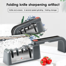 Knife Sharpener Professional Whetstone Kitchen Sharpening Stone Tungsten Steel Handheld