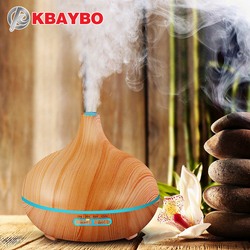 2018 300ML Ultrasonic Aromatherapy Humidifier Essential Oil Diffuser Air Purifier for Home Mist Maker Aroma DiffuserLED Light