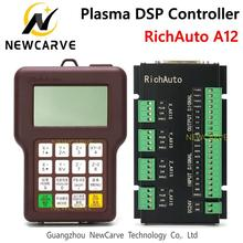 RichAuto A12 CNC Plasma USB Controller DSP A12S  A12E USB CNC Control System Manual NEWCARVE стоимость