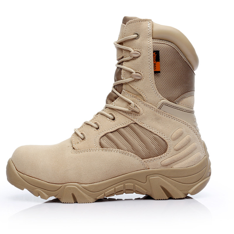 Manufacturers Wholesale Delta Hight-top Desert Boots Army Fans Tactical Boots Outdoor Hiking Boots Cross Border