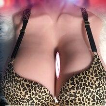 Pecho postizo pecho postizo silicona sexo pecho masculino pene masturbador suave realista piel femenina adulto producto sexual