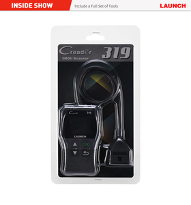 Image 5 - Launch lector de códigos de coche Creader 319 OBD2, OBDII, OBD 2, herramienta de escaneo, comprobación de código de fallas de motor, lectura cr319, CR3001, Creader 3001