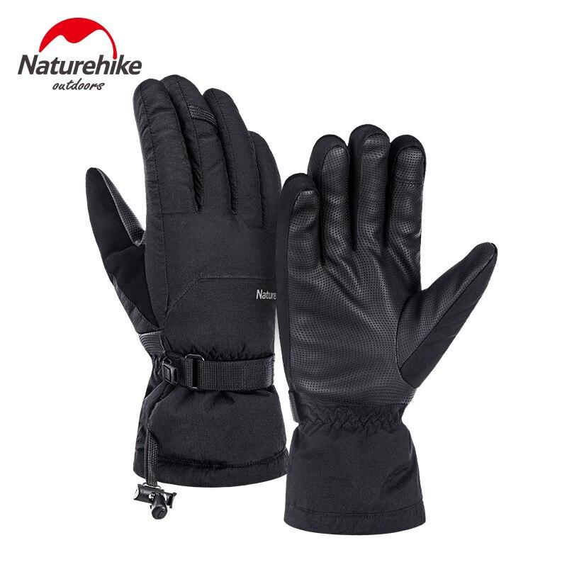 Naturehike Unisex Duck Down Gloves Waterproof -15°C Winter Gloves Warm Kepping Biker Gloves Thickening Climbing Skiing Hiking