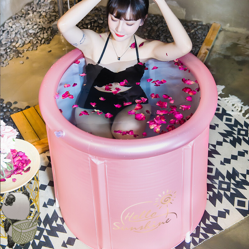 Eco Friendly Foldable Bathtub Inflatable Portable Shower Adult Portable Bathtub Tina Plegable Adulto Bathroom Products DG50YP