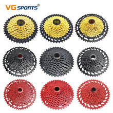 VG Sports-piñón libre ultraligero para bicicleta de montaña, 9, 10, 11 velocidades, 11-40T/42T/46T/50T, color rojo y negro