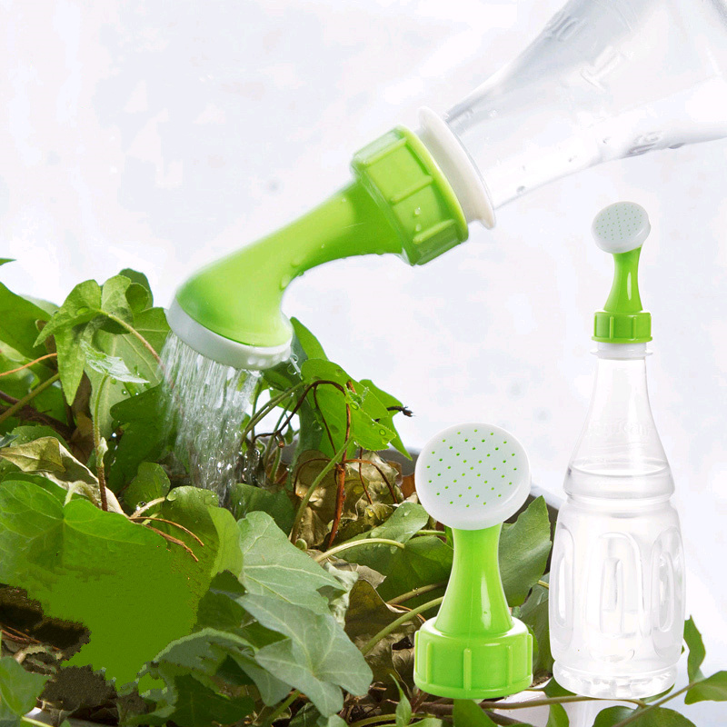 Portable Potted Watering Device Sprinkler Nozzle Bottle Cap Pressure Spray Plant Waterer For Garden Supplies