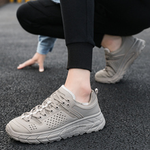 Casual Shoes Man Fashion Breathable Mesh Comfortable Outdoor Skateboard shoes high quality Sneakers zapatillas hombre