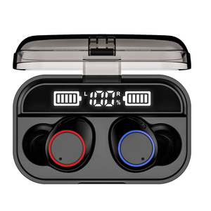 Image 4 - TWS X13 wireless earphone Bluetooth 5.0 with power display battery compartment 5000mAh touch IPX7 waterproof touch control