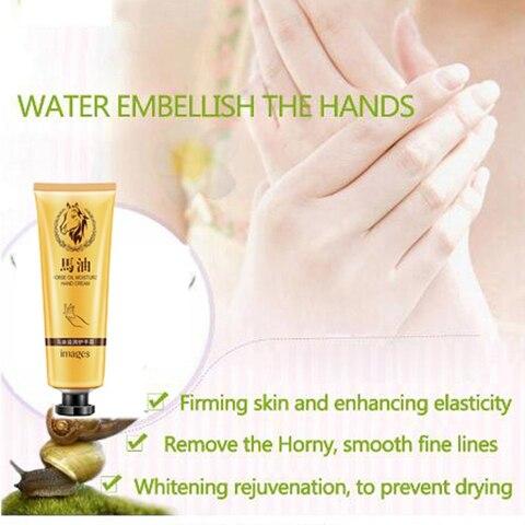 Horse Oil Repair Hand Cream Moisturizing Anti Aging Whitening Hand Cream Skin Care Nourishing Cream For Dry Cracked Hands TSLM1 Karachi