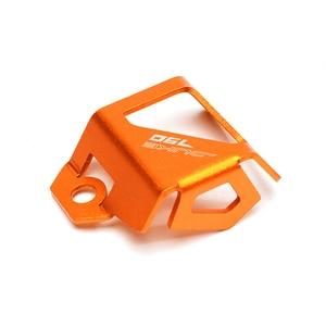 Image 4 - New Motorcycle Orange Rear Fluid Reservoir Cover Guard Cap For KTM DUKE 790 1290 Adventure 790 1190 1290 Super