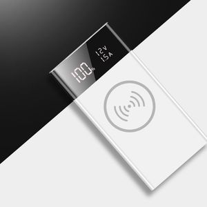 Image 2 - 6x18650 Batterij DIY Qi Draadloze Oplader QC3.0 USB Type C PD Power Bank Box Case Q39D