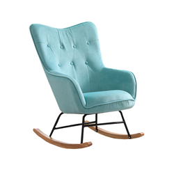 Nordic Adult Rocking Chair Lounge Chair Modern Casual Chaise Longue Sillones Sillon Reclinable Sallanan Sandalye Lazy Chair