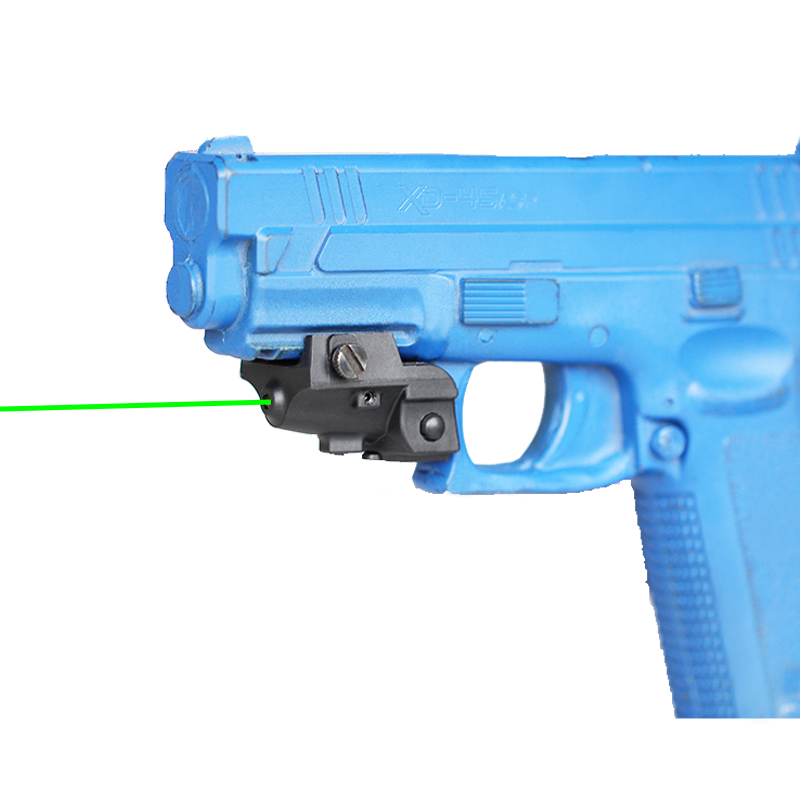 Rechargeable Subcompact Pistol Glock 17 18c 19 Green Laser Sight Tactical Weapons Gun Laser Picatinny Rail Aiming Lazer Pointer-1