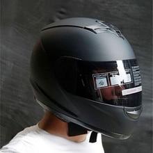 2020 Professional Racing Helmet Dark Lens Helmet Motorcycle  Full Face Safe Helmets Casco Capacete Casque Moto S M L XL XXL