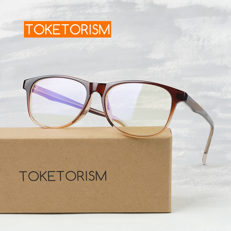 Toketorism New Arrival 2019 Woman's Small Eyeglasses Retro Optical Glasses Frame 8019