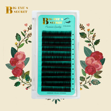 BES Individual Lash Extension Supplies Faux Mink Eyelashes J B C D L Curl 8-15mm Russian Volume