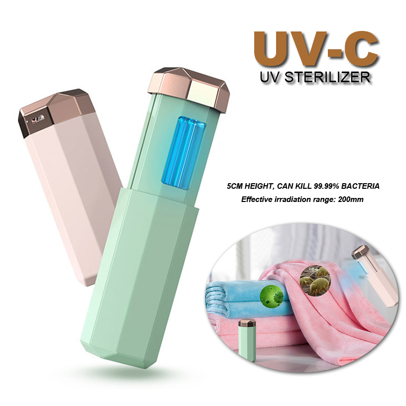 USB Rechargeable Portable UV Lamp UV Germicidal Lamp Home Daily Disinfection Stick
