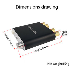 Image 5 - ZK 1002D 블루투스 5.0 무선 스테레오 오디오 전력 증폭기 보드 TPA3116D2 100W + 100W 자동차 앰프 Amplificador 홈 시어터 AUX USB