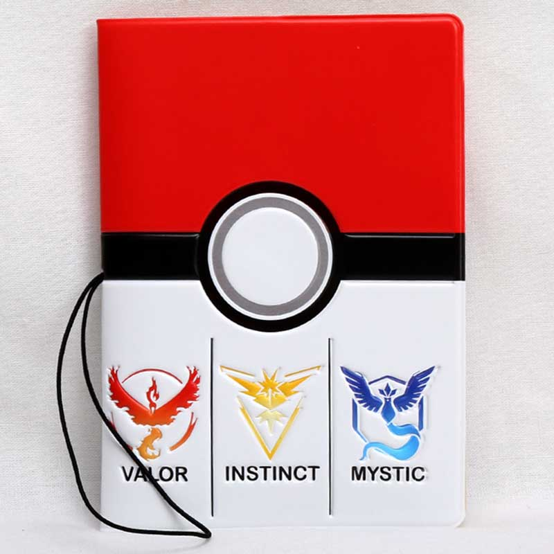 Fashion Travel Accessories Cartoon Pokemon  Passport Holder PVC 3D Print Leather Travel Passport Cover Case Card ID Holders