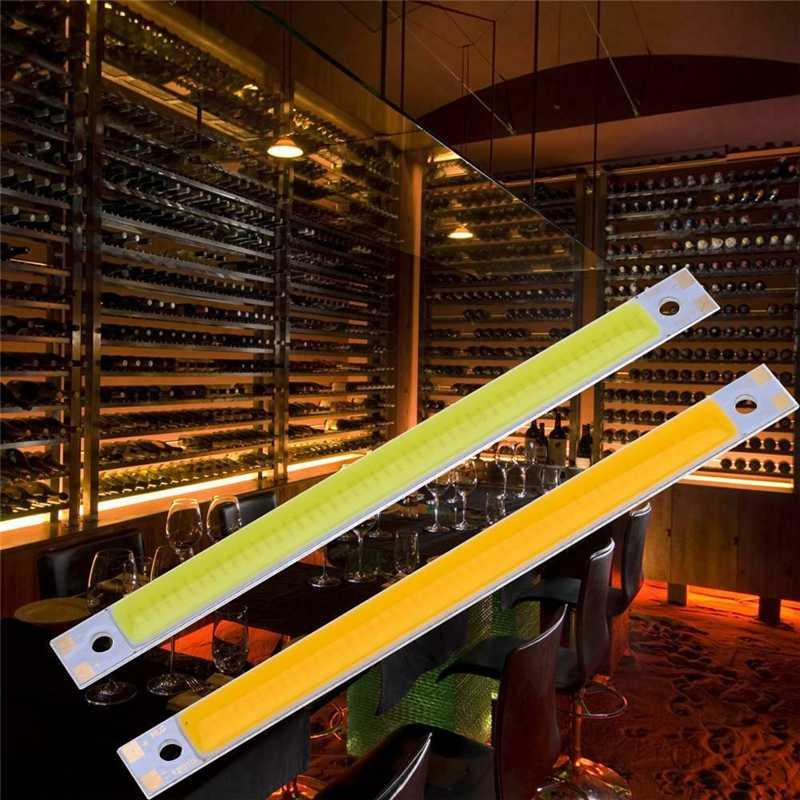COB LED Strip 80x7.5mm 3.7v Universal Ultra Bright LED Strip Light White Warm White Red Blue Green For DIY Flexible Bar Strip