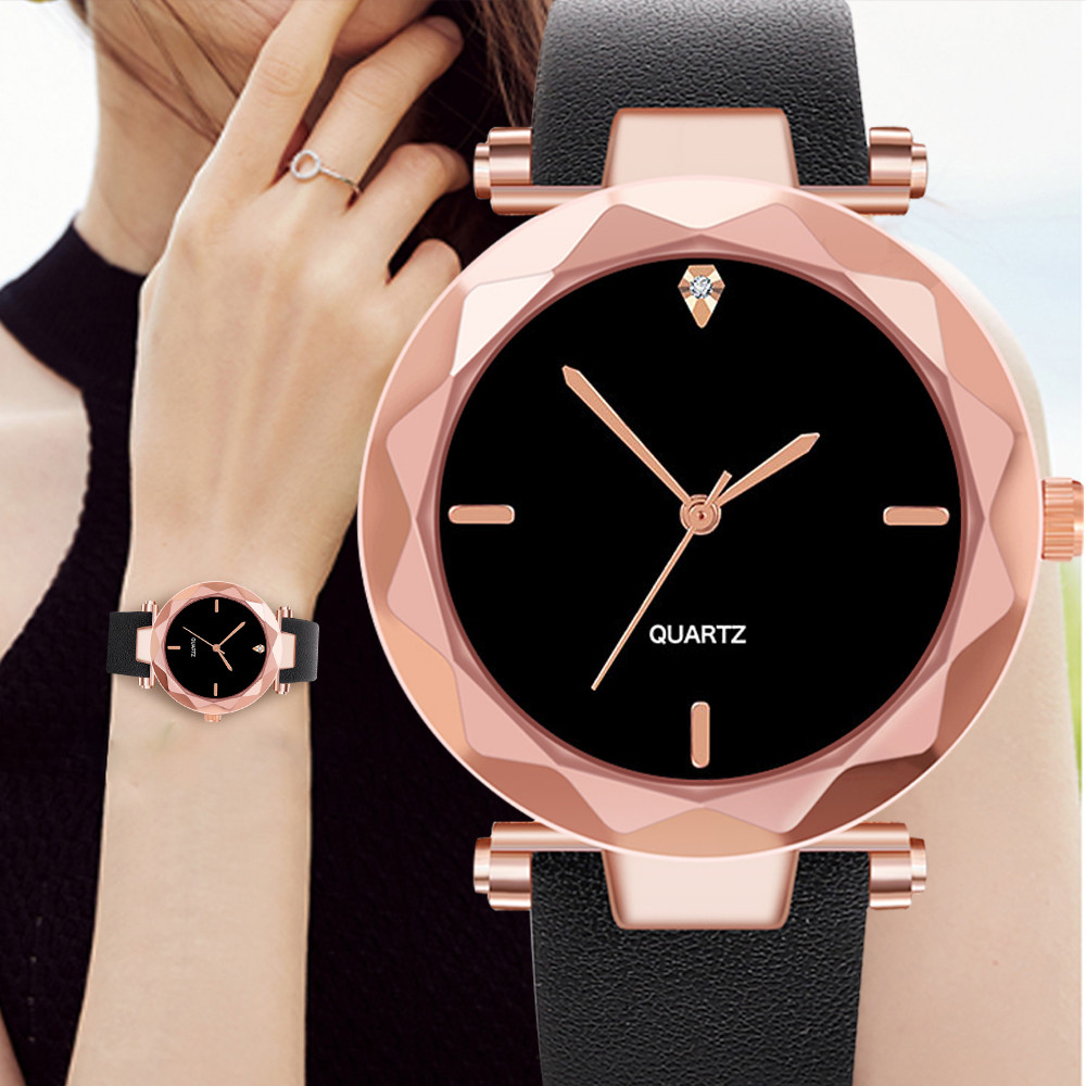 Casual Women Watches Scale Irregular Dial Ladies Quartz Wristwatch Leather Strap Fashion Clock Party Gift Relojes Para Mujer@50