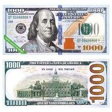 Papel de el infierno-billetes de banco. Accesorio de moneda. Ancestro. Dólar de comedor (US.100)
