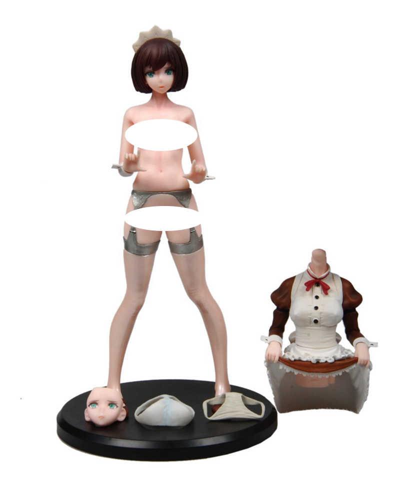 Classic Brown Ver Meninas 27 centímetros Daiki Anime Pvc Brinquedos Figuras de Ação Anime Figura Brinquedos Para As Crianças Presentes de Natal Das Crianças