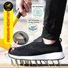 Nmsafety Veiligheid Werkschoenen Mannen Stalen Neus Toevallige Ademende Outdoor Sneakers Punctie Proof Laarzen Comfortabele Industriële Schoenen