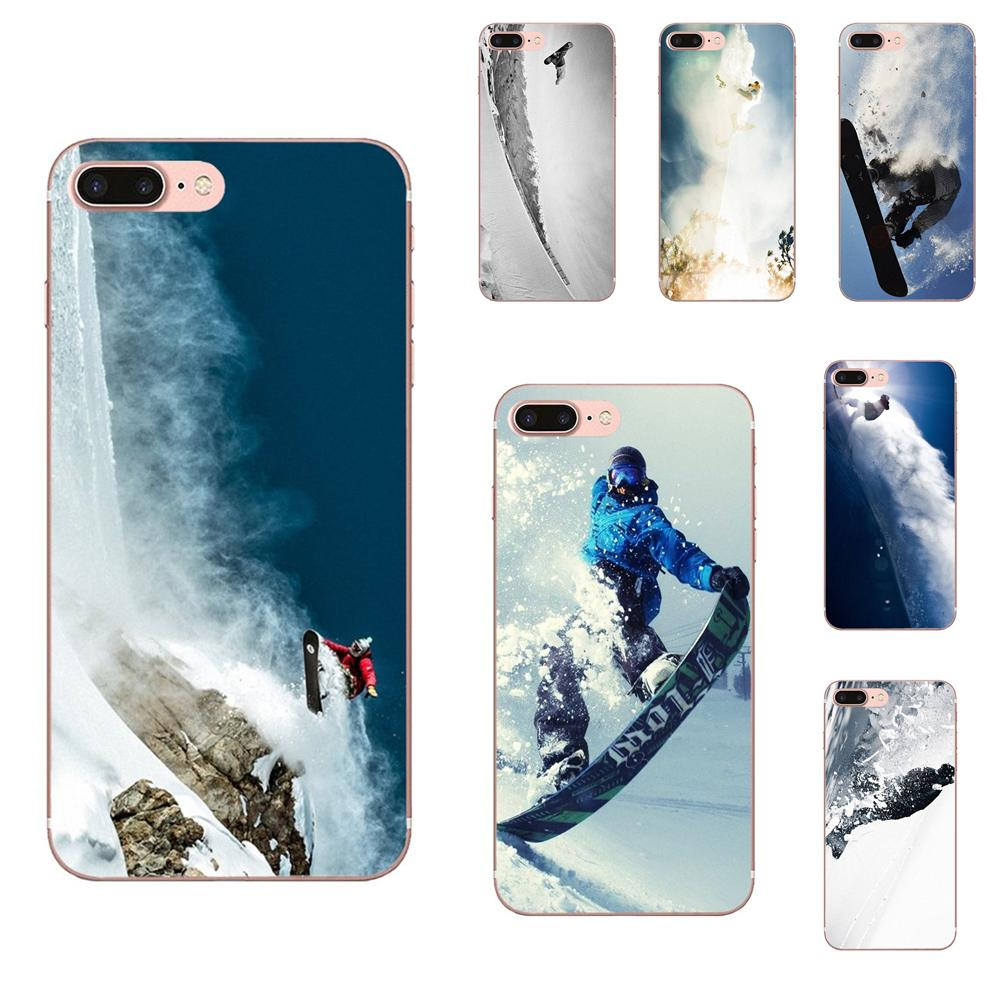Soft New Style For Galaxy J1 J2 J3 J330 J4 J5 J6 J7 J730 J8 2015 2016 2017 2018 mini Pro Awesome Love Snow Or Die Ski Snowboard