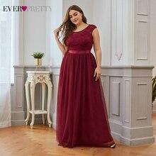 Платья для матери невесты размера плюс бордового цвета ever