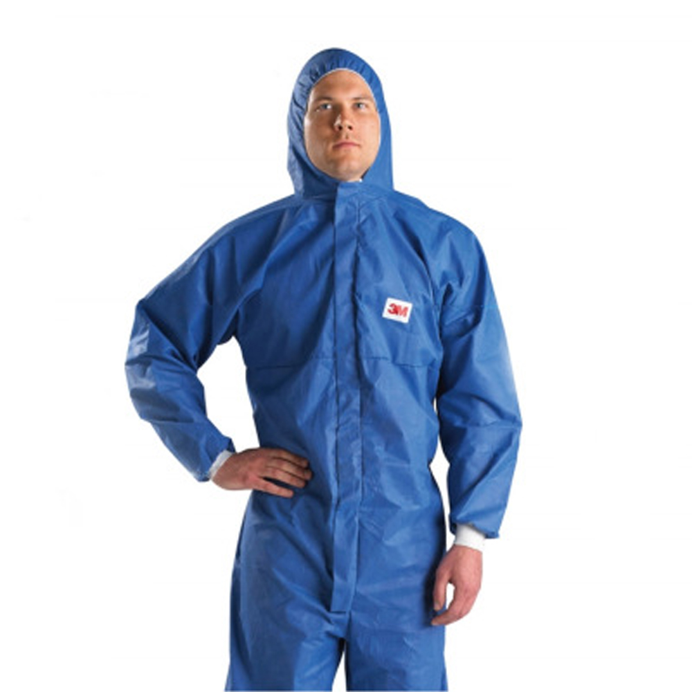 Radioactive-Suit Waist-Clothing Coverall Radiation-Protection Anti-Chemical Hooded 3M title=
