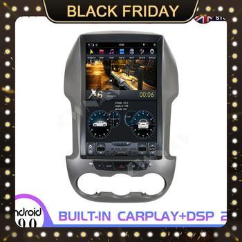 Radio Multimedia con Gps para coche, Radio con Android 9, 4 + 128G, PX6, tesla, para Ford Ranger/Ford F250 2011 +, unidad principal