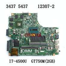 Laptop Motherboard 5437 Dell Inspiron 750M/2GB Mainboard100%Test NEW FOR 3437 12307-2
