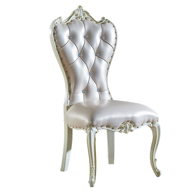 Modern Minimalist Manicure Stool Makeup Chair Solid Wood White Dining Chair Living Room Furniture Recliner Sallanan Sandalye