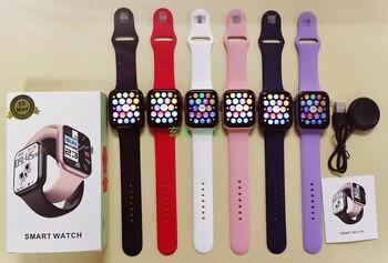 2021 Original X8 Max Smart Watch 1.75inch Custom Dia BT Call  Sports Sleep Monitor Heart-rate Men Woman iwo Smartwatch PK iwo13 4