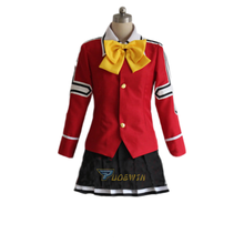 Custom made Fairy Tail Wendy cosplay costume any size new fairy tail erza scarlet women cosplay costume any size tailor made free shipping in stock