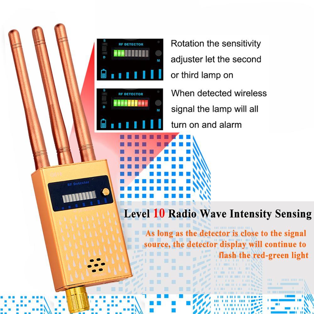 Three-Antennas-1-8000MHz-RF-Signal-Detector-Wireless-Audio-Bug-Camera-Detector-Finder-2G-3G-4G (4)