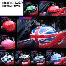 Für MINI Countryman Clubman R55 R57 R58 R59 R60 R61 Auto Styling Rückspiegel Aufkleber Abdeckung Für MINI Cooper R56 zubehör