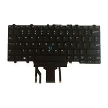 Replacement Keyboard US Backlit for Dell Latitude E5450 E7250 E7450 E7470 E5470, 290 x 150 x 5mm