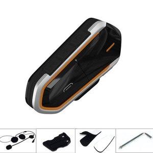 Image 5 - VR robot Motorcycle Bluetooth Intercom QTBE6 Waterproof Wireless Moto Helmet Headset Handsfree FM Raido Interphone for 2 Riders
