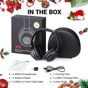 Image 5 - OneOdio Original A9  Active Noise Cancelling Wireless Headset With Mic Stereo Over Ear Bluetooth Headphones For Phones