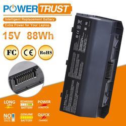 A42 G750 akumulator do laptopa 15V 5900mAh dla asus rog G750 G750J G750JH G750JM G750JS G750JW G750JX G750JZ CFX70 CFX70J 8 komórki w Akumulatory do laptopów od Komputer i biuro na