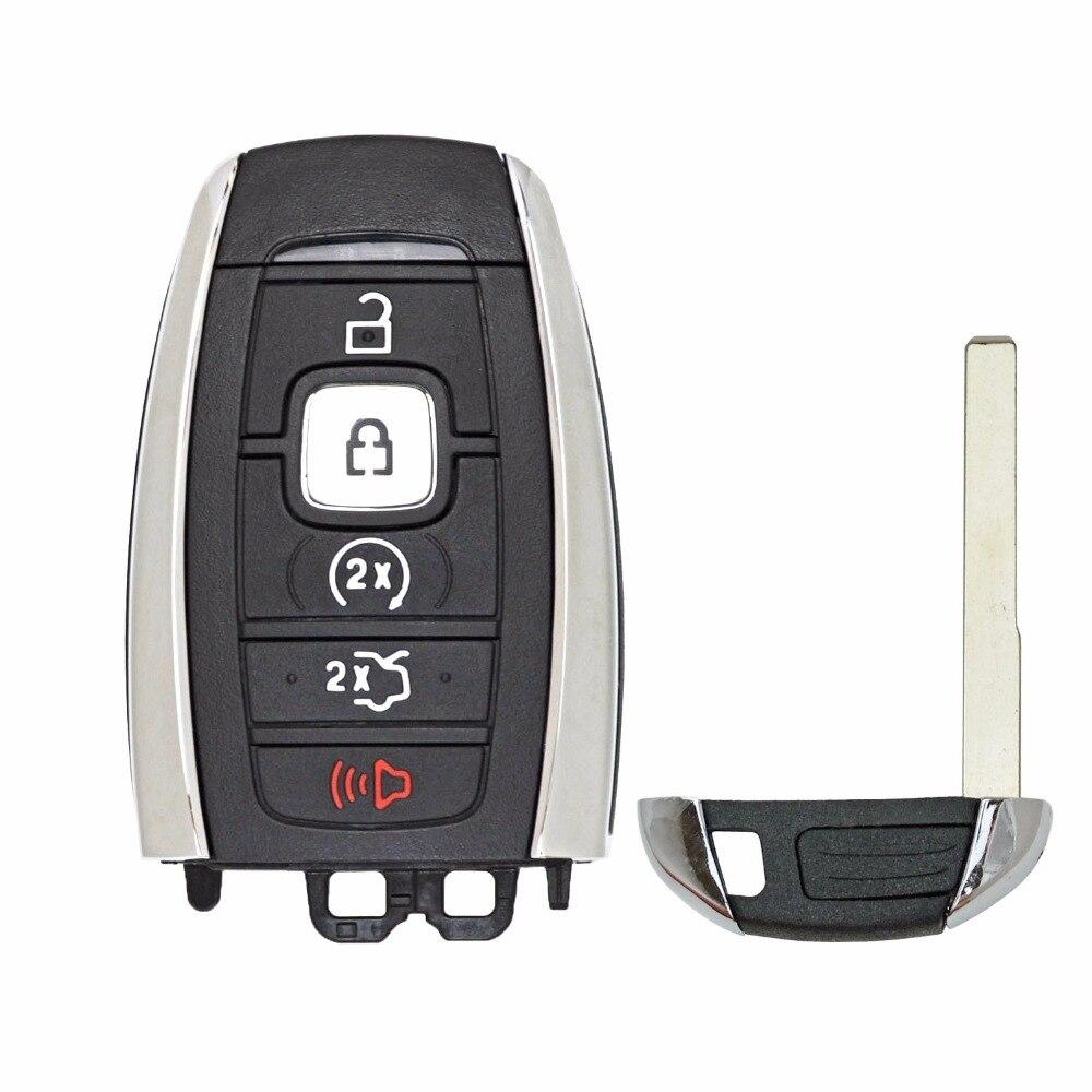 KEYECU-for--Continenta-l-MKC-MKZ-Navigator-Remote-Car-Key-Shell-Case-Fob-Housing-Cover