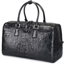 dongou new  crocodile  luggage  Light and decoration  The crocodile bone skin  portable  The large capacity  business  leisure