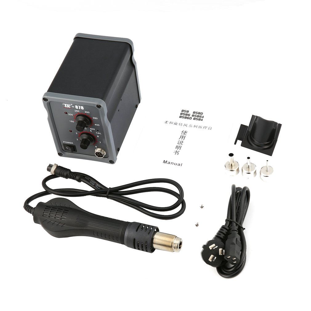 TAIKD 700W Rework Soldering Station Hot Air Blower Heat Gun Welding Solder Iron Repair Tool For Repair Watch Mobile Phone