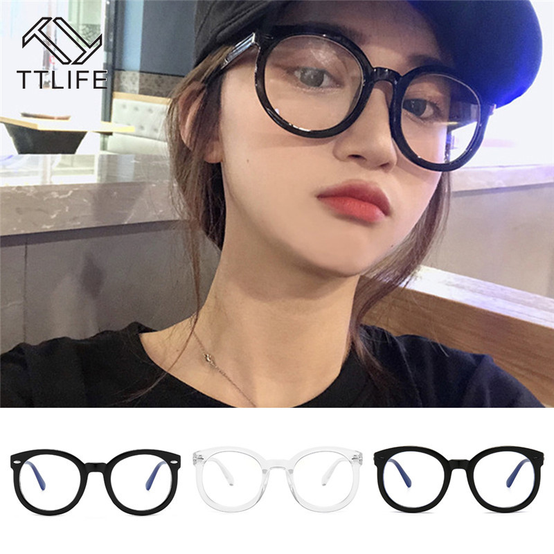 TTLIFE Anti Blue Glasses Oversized Frame Cat Eye Optical Glasses Blu-Ray Computer Phone Protection Eyeglasses YJHH0393